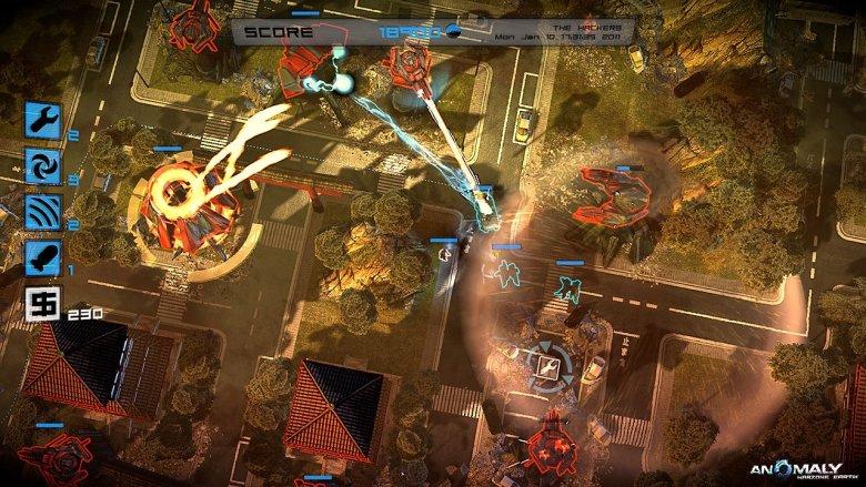 Rezygnując z bardzo trudnego rynku konsolowego, twórcy z polskiego 11Bit Studios osiągneli w końcu międzynarodowy sukces z nowatorską grą Anomaly: Warzone Earth.