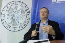 Prof. Marek Jan Chodakiewicz totalnie odleciał na wykładzie w centrum edukacyjnym IPN