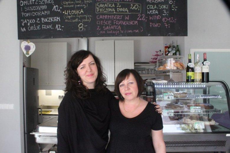 """Dominika Szaniawska z mamą. Założycielki """"Ente Cafe""""."""