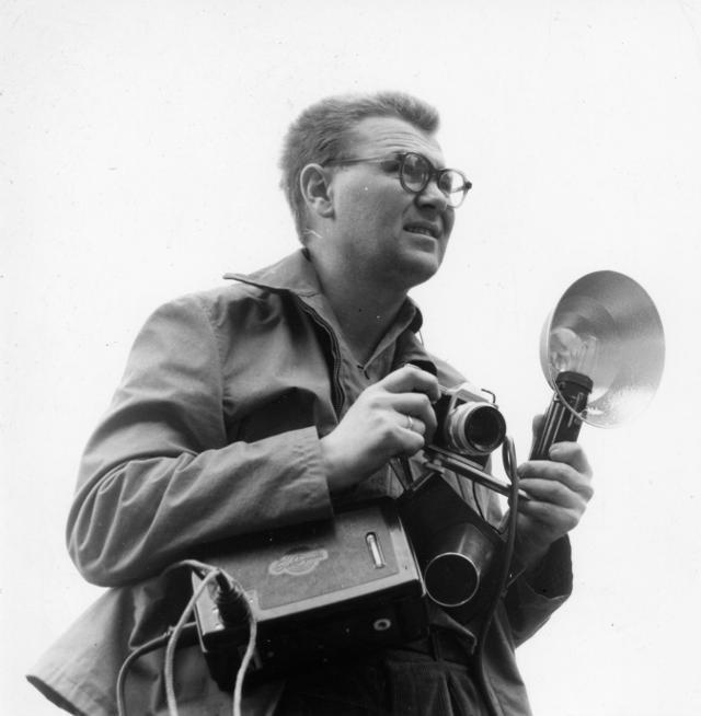Beksiński był również fotografem.