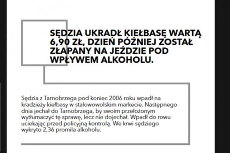 Na stronie SprawiedliweSady.pl zamieszczono historię człowieka, który nie żyje od dwóch lat, a togę sędziowską zrzucił 11 lat temu. Nie pozostał też bezkarny za swoje czyny, bo został skazany przed sądem.