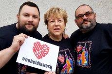 Leszek Olejarczyk (z lewej) wraz z rodzicami grają z Wielką Orkiestrą Świątecznej Pomocy praktycznie od samego początku.
