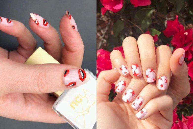 Fantazyjne naklejki na paznokciach wyglądają bardzo oryginalnie. Wzory proponowane m.in. przez NCLA pozwalają na prawdziwe szaleństwo