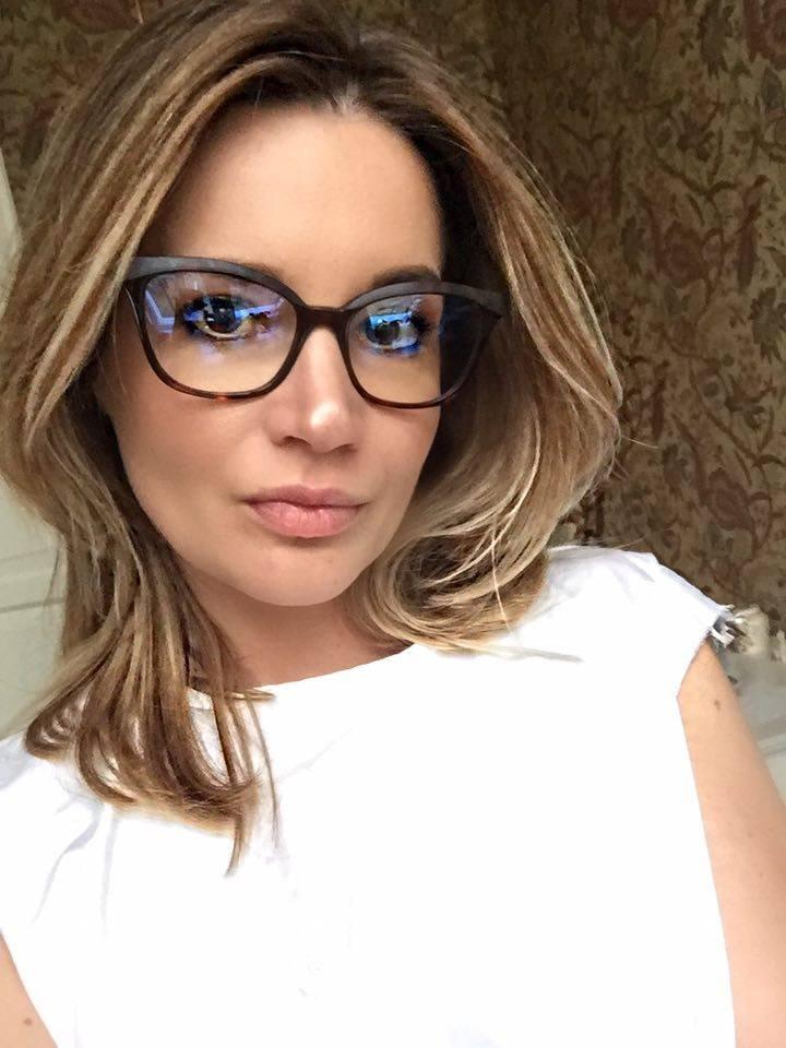 Kate Boss w okularach Caroline Abram