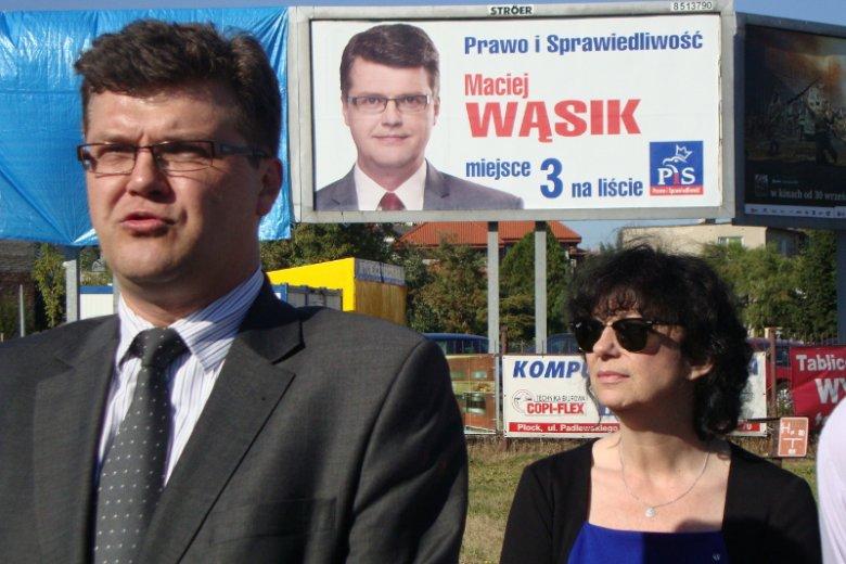 """Na zdjęciu Maciej Wąsik, były wiceszef CBA, jeden bohaterów artykułu """"Wyborczej"""" o poszukiwaniu haków na Hannę Gronkiewicz - Waltz."""