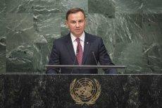 Zachowanie dyplomatów podczas przemówienia Andrzeja Dudy było dalekie od standardów kultury.