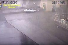 Gurdia di Finanza pokazała nowe nagranie z momentu zawalenia się mostu w Genui.
