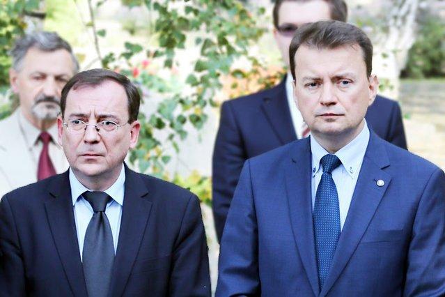 Rozgrywki między koordynatorem służb specjalnych Mariuszem Kamińskim a szefem MSWiA Mariuszem Błaszczakiem to jeden z powodów chaosu w polskim systemie bezpieczeństwa.