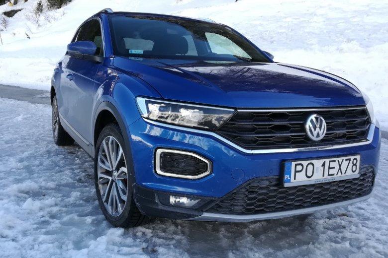 VW T-Roc to całkiem udana nowość niemieckiego koncernu.