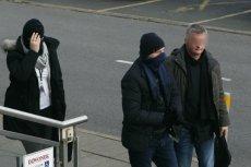 Były szef KNF Marek Chrzanowski (w środku) niebawem opuści areszt.