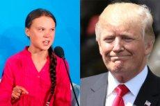 16-letnia Greta Thunberg nadepnęła Donaldowi Trumpowi na odcisk.