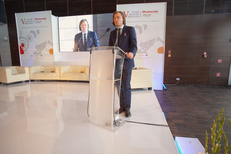 Mariusz Frankowski - Dyrektor Mazowieckiej Jednostki Wdrażania Programów Unijnych