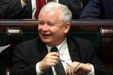Jarosław Kaczyński nie traci ducha i przekonuje, że tak na prawdę poparcie dla PiS nie spada tylko rośnie.
