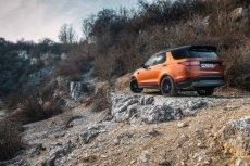 Nowy Land Rover Discovery to auto wymagające - trudnych tras