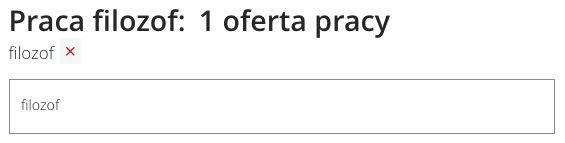 """W popularnym serwisie z ogłoszeniami o pracę znalazłem jedną ofertę: """"Specjalista ds. obsługi klientów i zamówień z językiem czeskim"""""""