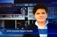 """Beata Szydło na żywo w """"Wiadomościach"""": Rozmawiałam z Angelą Merkel, która dzwoniła z życzeniami"""