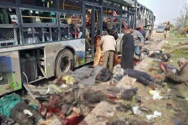 Kolejny poziom barbarzyństwa w Syrii został przekroczony. Dokonano ataku na konwój ewakuowanej ludności.
