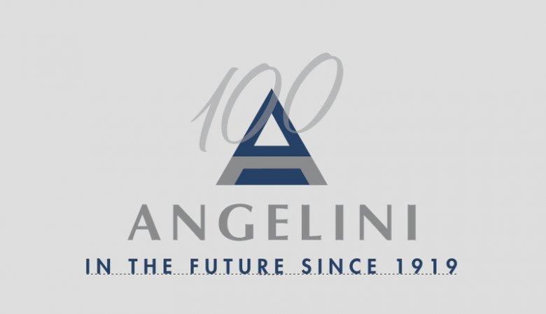 Logo Grupy Angelini stworzone z okazji setnej rocznicy powstania firmy.