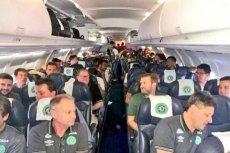 Katastrofa samolotu w Kolumbii. Zginęli członkowie brazylijskiej drużyny piłkarskiej.