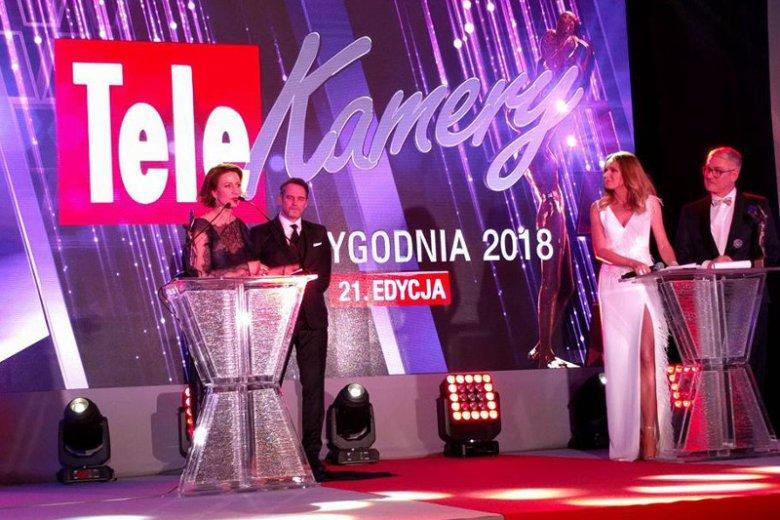W Arkadach Kubickiego w Warszawie odbyła się impreza Telekamery 2018.
