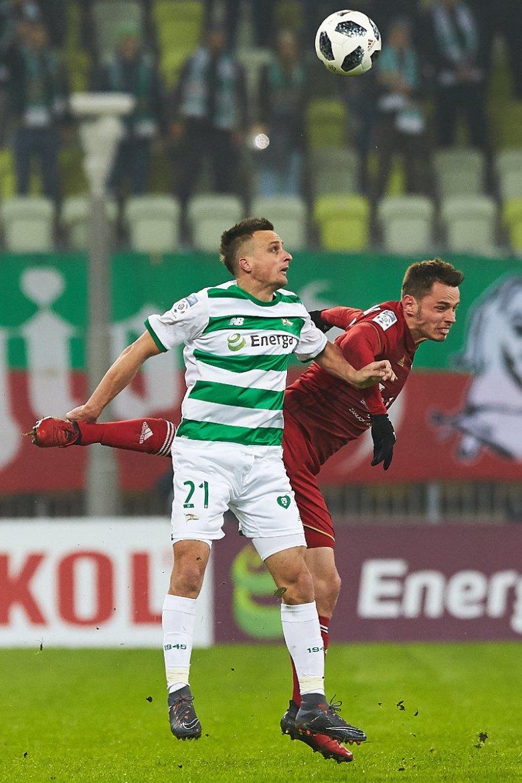 Gol Sławomira Peszki dał Lechii remis w sobotnim meczu z Wisłą Kraków.