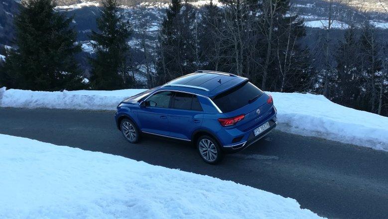 Ten kompaktowy SUV bardzo dobrze radził sobie zarówno na górskich serpentynach, jak i na autostradzie.