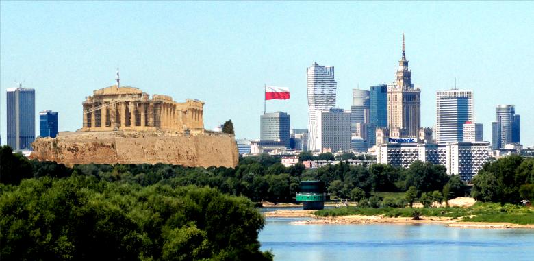 Warszawa z widokiem na Akropol