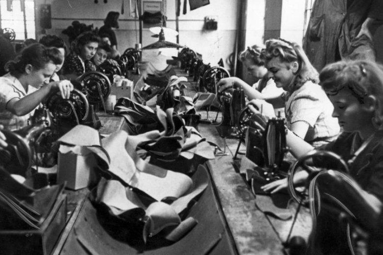 Kobiety były w Polsce międzywojennej ważną częścią siły roboczej