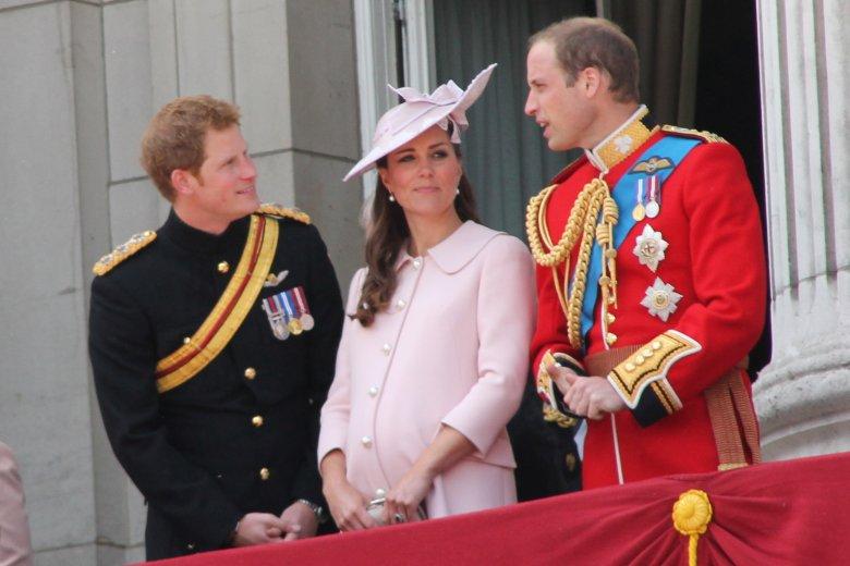 Kate podczas pierwszej ciąży z książętami: Harry'm i Williamem