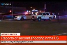 Strzelanina zszokowała liczące 140 tysięcy mieszkańców Dayton