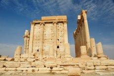 Świątynia Baalshamin w Palmirze.