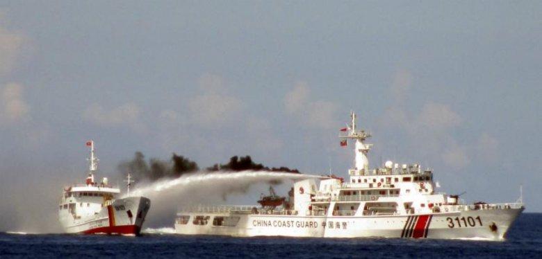 Chiński okręt wydobywczy