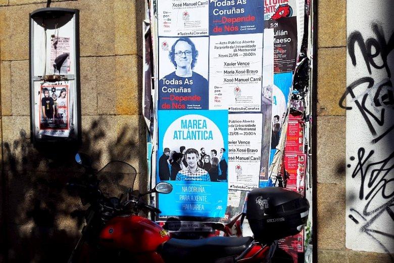 Kampania wyborcza w Hiszpanii.