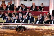 Duda na imprezie Polsatu zajął honorowe miejsce.