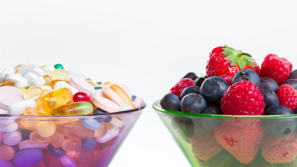Suplementy diety to nie lekarstwa! Nie zastąpią również zdrowej diety.
