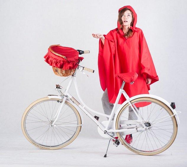 Pelerynka - najlepszy przyjaciel rowerzysty!