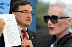Zbigniew Ziobro i Olga J. Kora