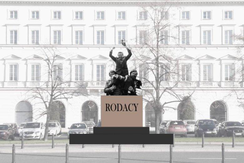 Pomnik Lecha Wałęsy miałby stanąć tuż obok pomnika Józefa Piłsudskiego
