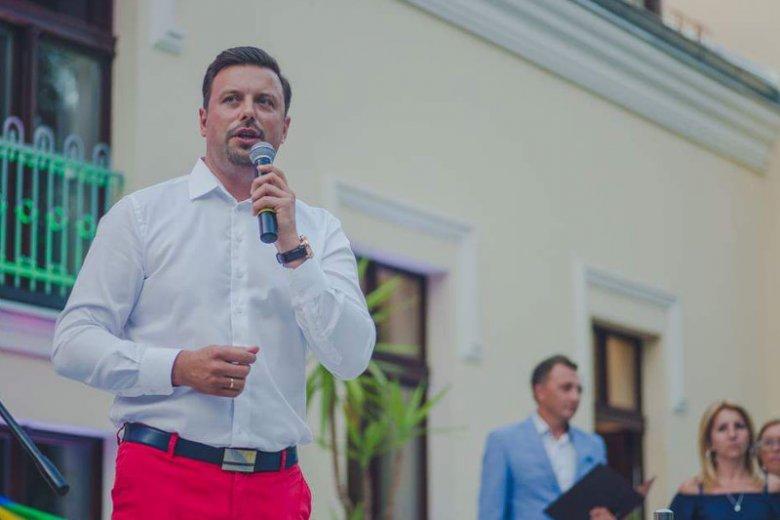Rafał Piech, prezydent Siemianowic Śląskich, powierzył miasto Niepokalanemu Sercu Maryi.