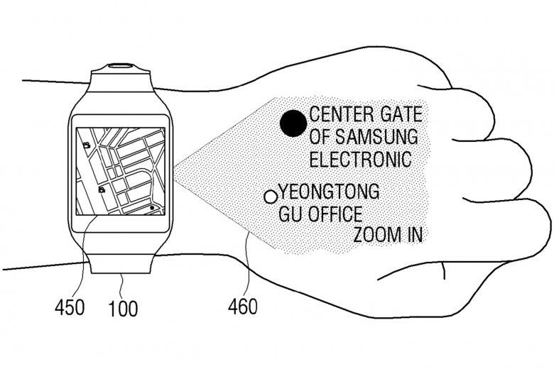 Schemat rewolucyjnego smartwatcha