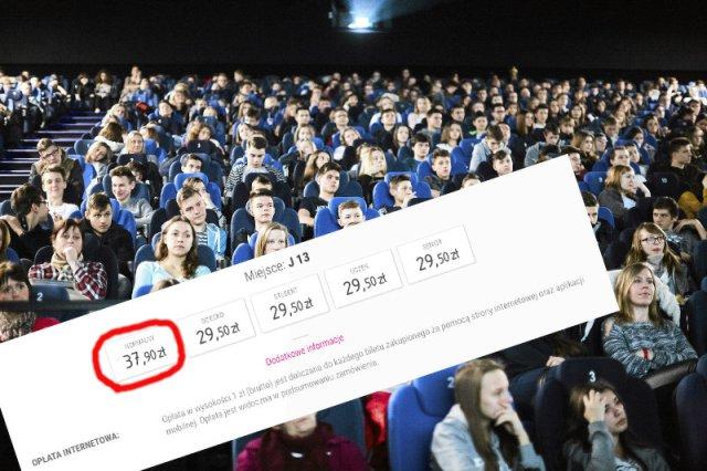 Za kino płacimy więcej niż Niemcy.