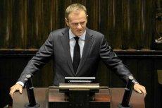 Donald Tusk w Sejmie. Dzisiaj długo oczekiwane expose premiera
