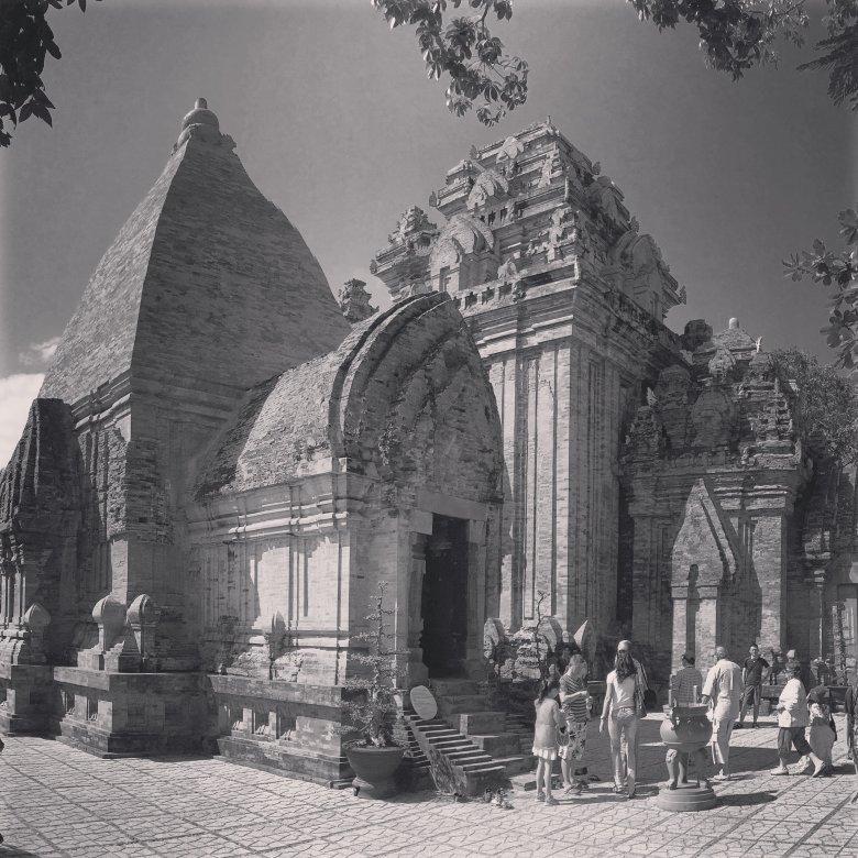 Jedna z wież w hinduistycznej świątyni czamskiej z VIII w n.e. w Nha Trang