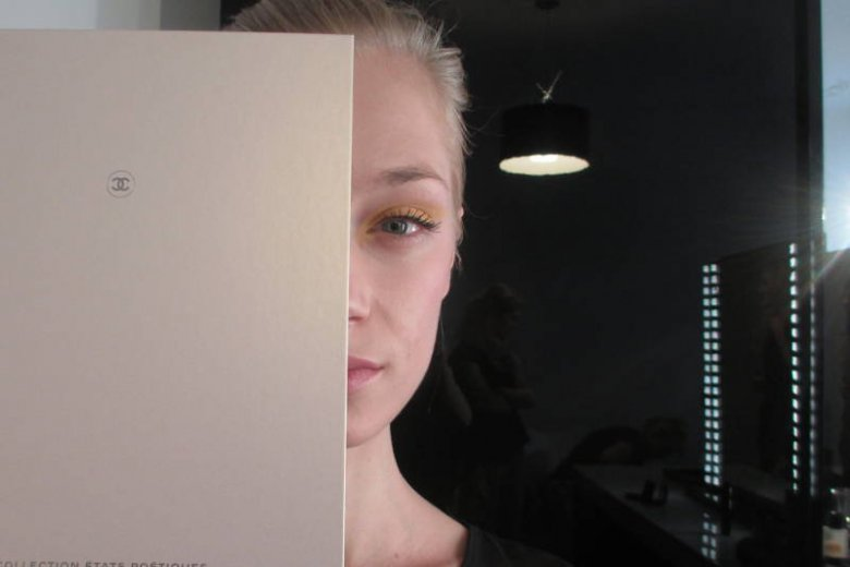Prezentacja Chanel. Makijaż: Ula Adamiak