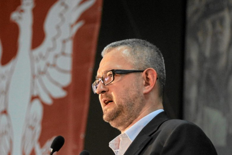 Rafał Ziemkiewicz chciał pożartować z TVN. Nie wyszło.