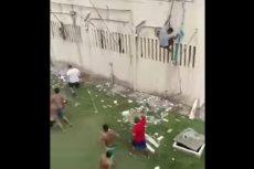 Walki gangów w więzieniach Brazylii. 57 osób zostało uduszonych.