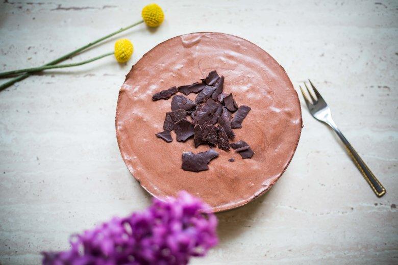 Mus czekoladowy, którego jedna porcja ma tylko 180 kalorii.