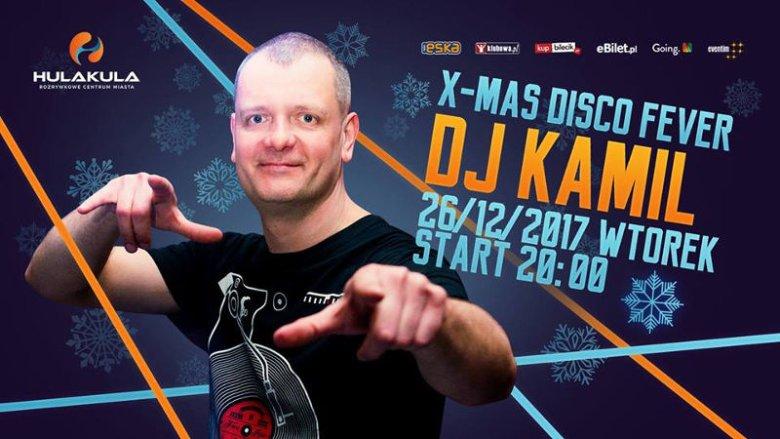 Za konsolą – rezydent Hulakula DJ Kamil