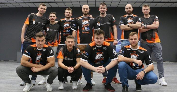 Virtus.pro oraz Team Kinguin podczas World Electronic Sports Games.