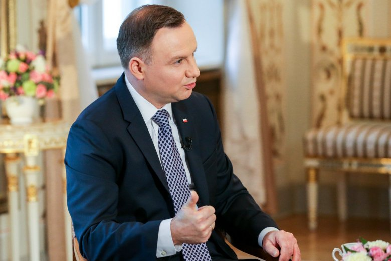 Andrzej Duda był dziś gościem TVN i mówił o trójpodziale władze.